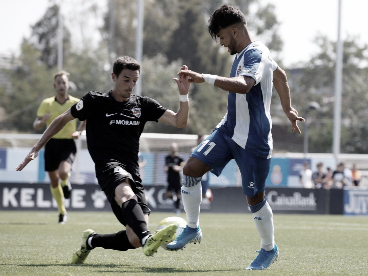 Nàstic - Espanyol B (2-2): Un Moha estelar impide la victoria del Nàstic