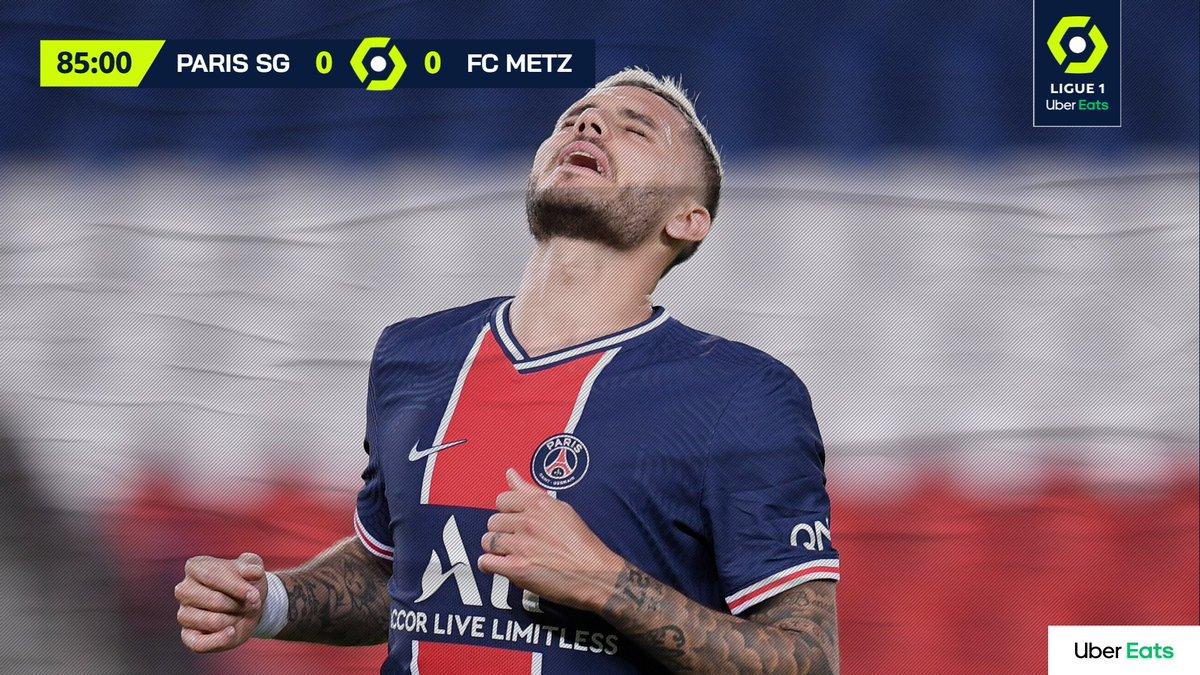 Il PSG vince allo scadere: 1-0 con il Metz