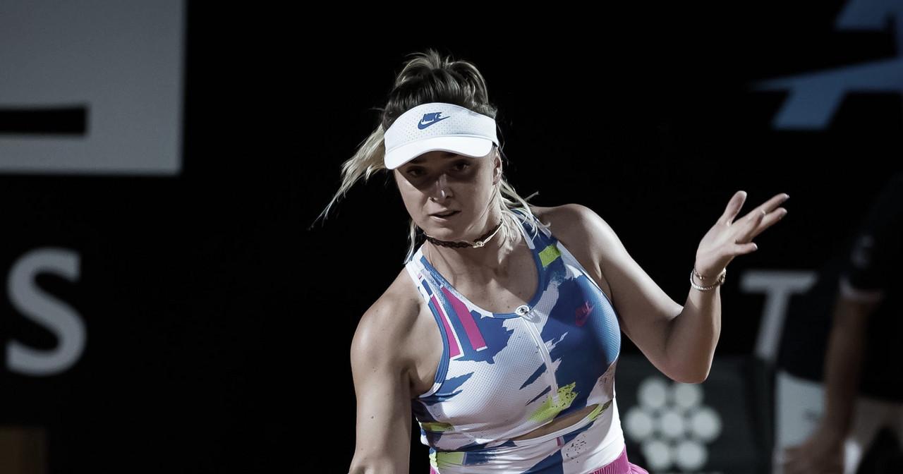 Svitolina derrota Pavlyuchenkova e vai às oitavas em Roma