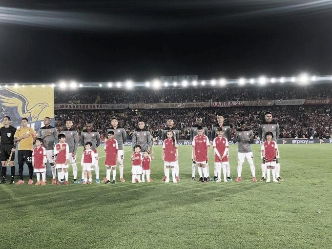 Puntuaciones de Independiente Santa Fe en el empate frente a Atlético Nacional