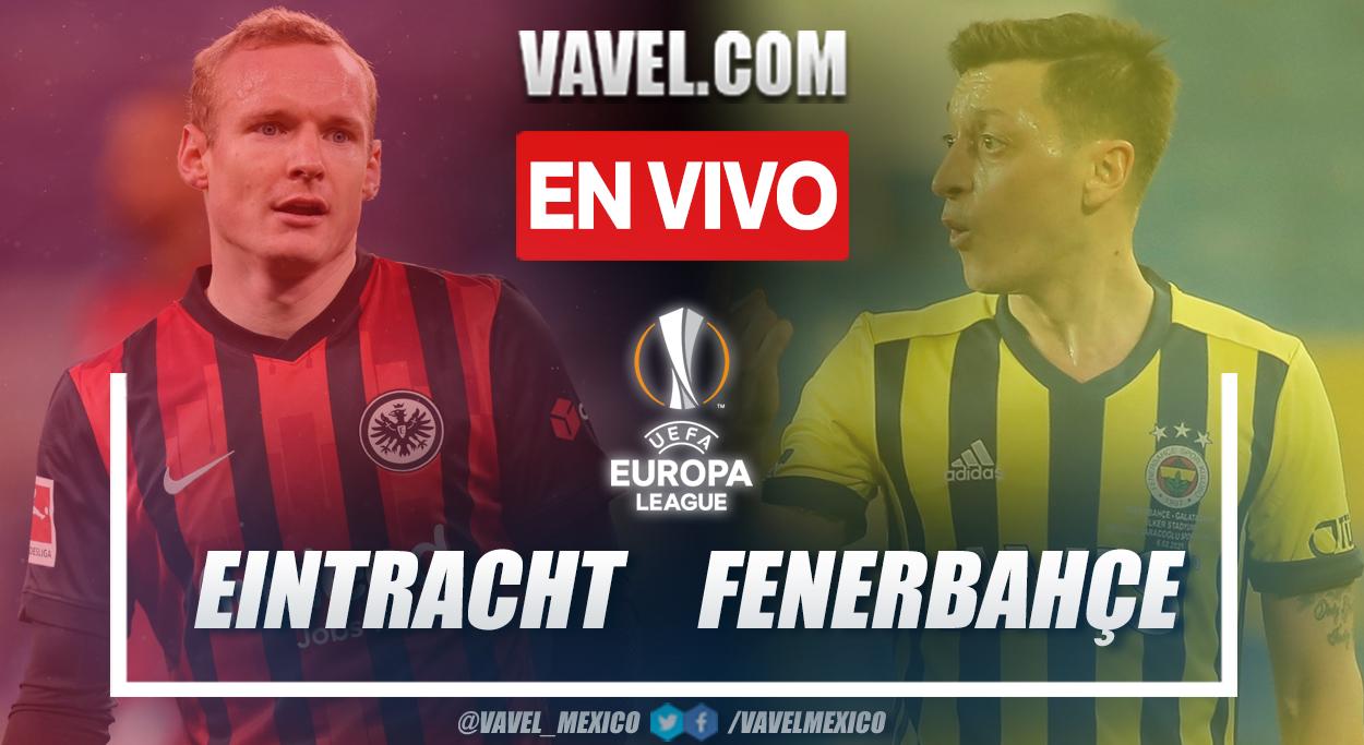 Resumen Eintracht Frankfurt 1-1 Fenerbahçe en la fecha 1 por Europa League 2021-22
