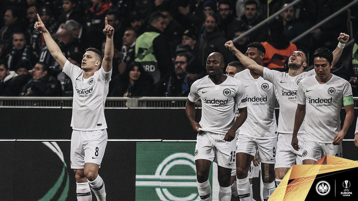Eintracht Frankfurt, único equipo alemán superviviente en Europa