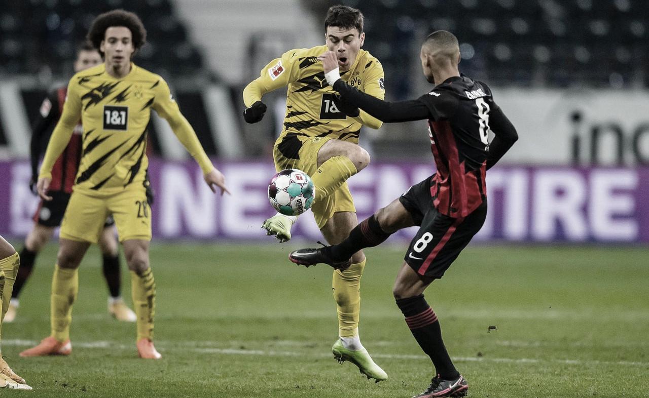 Punto poco ambicioso del Borussia Dortmund en Frankfurt