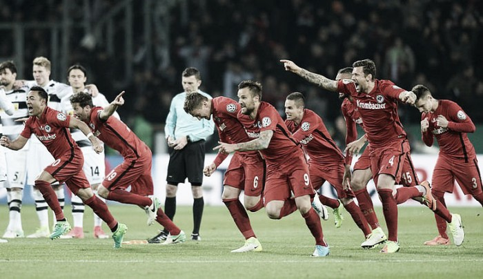 Dfb-Pokal - Rigori fatali per il Gladbach, Eintracht Francoforte in finale!