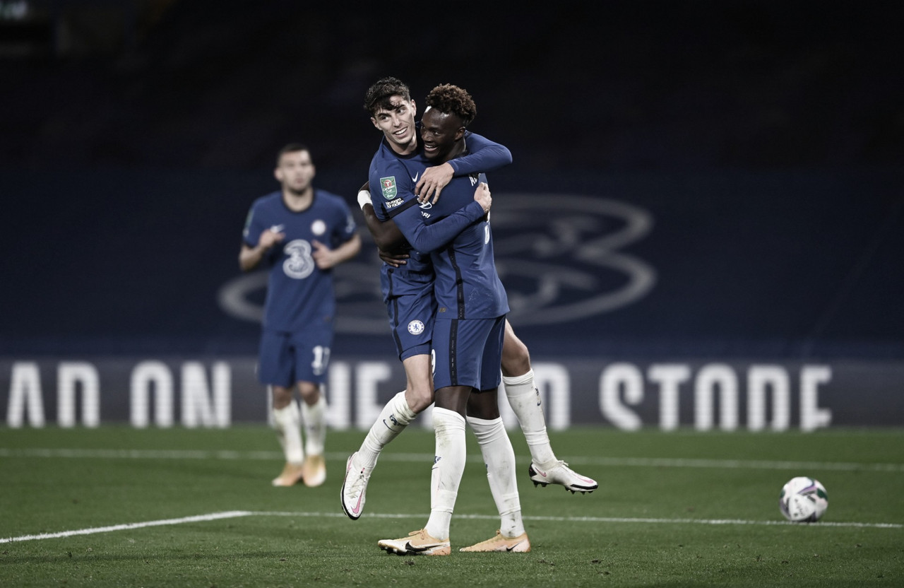 Com três de Havertz, Chelsea atropela Barnsley e avança na Copa da Liga