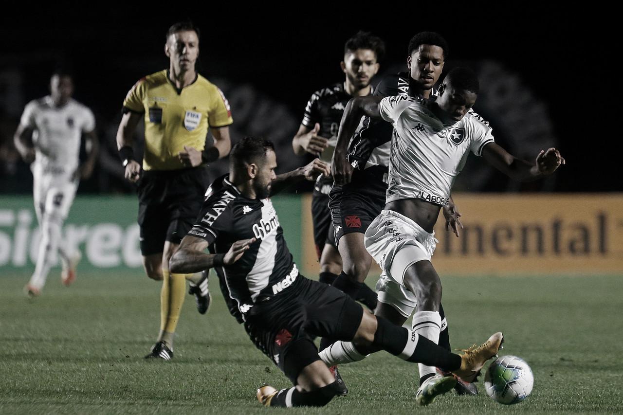 Botafogo segura Vasco e se classifica na Copa do Brasil