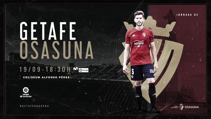 Resumen Getafe CF vs CA Osasuna (1-0)