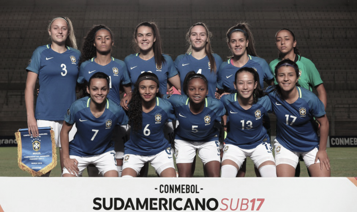 Brasil vence Colômbia e se mantem vivo no Sul-americano feminino sub-17