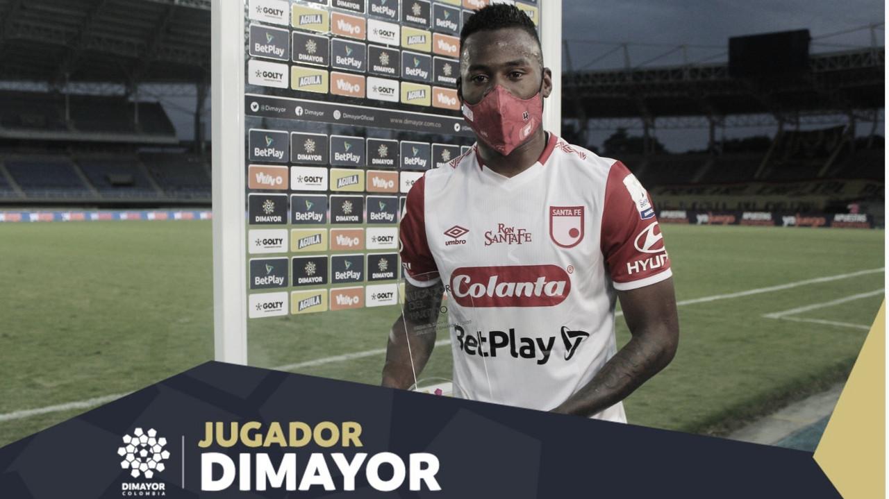 Carlos Arboleda, el mejor de la cancha ante Deportivo Pereira