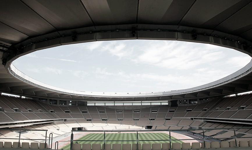 El estadio de la Cartuja, escenario para la selección española