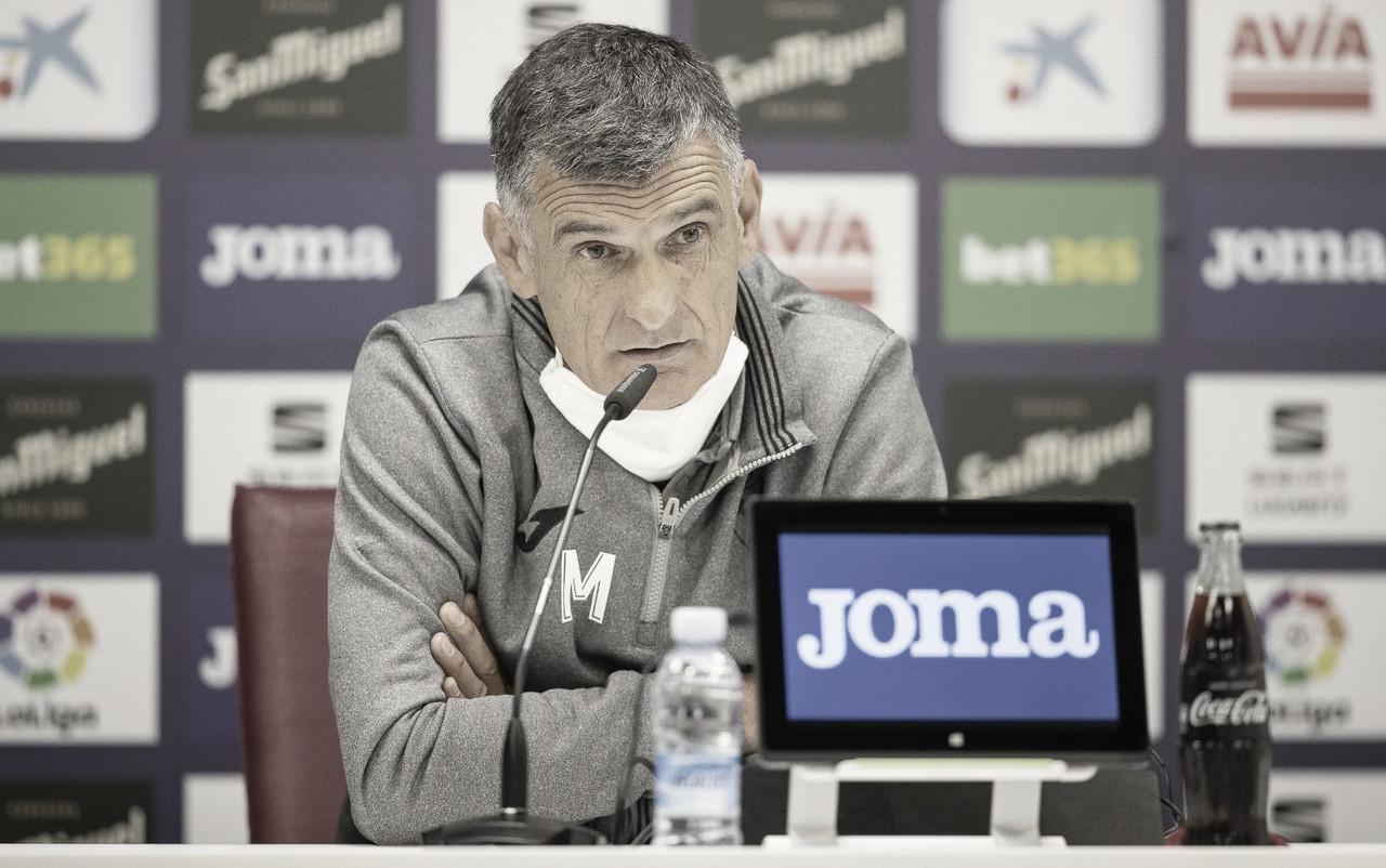 """José Luis Mendilibar: """"No tenemos la obligatoriedad de ganar, pero queremos hacerlo lo mejor posible"""""""