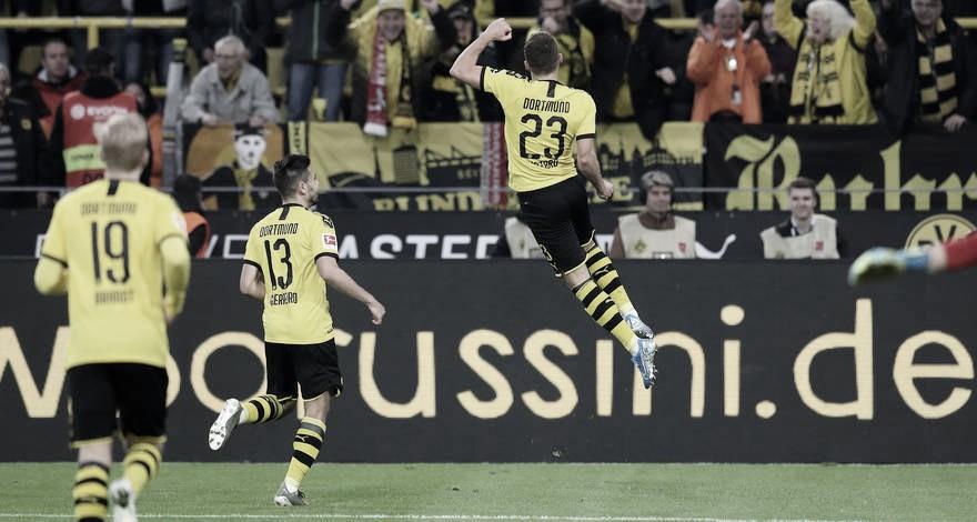 Hazard desencanta, e Borussia Dortmund tira invencibilidade do Wolfsburg na Bundesliga