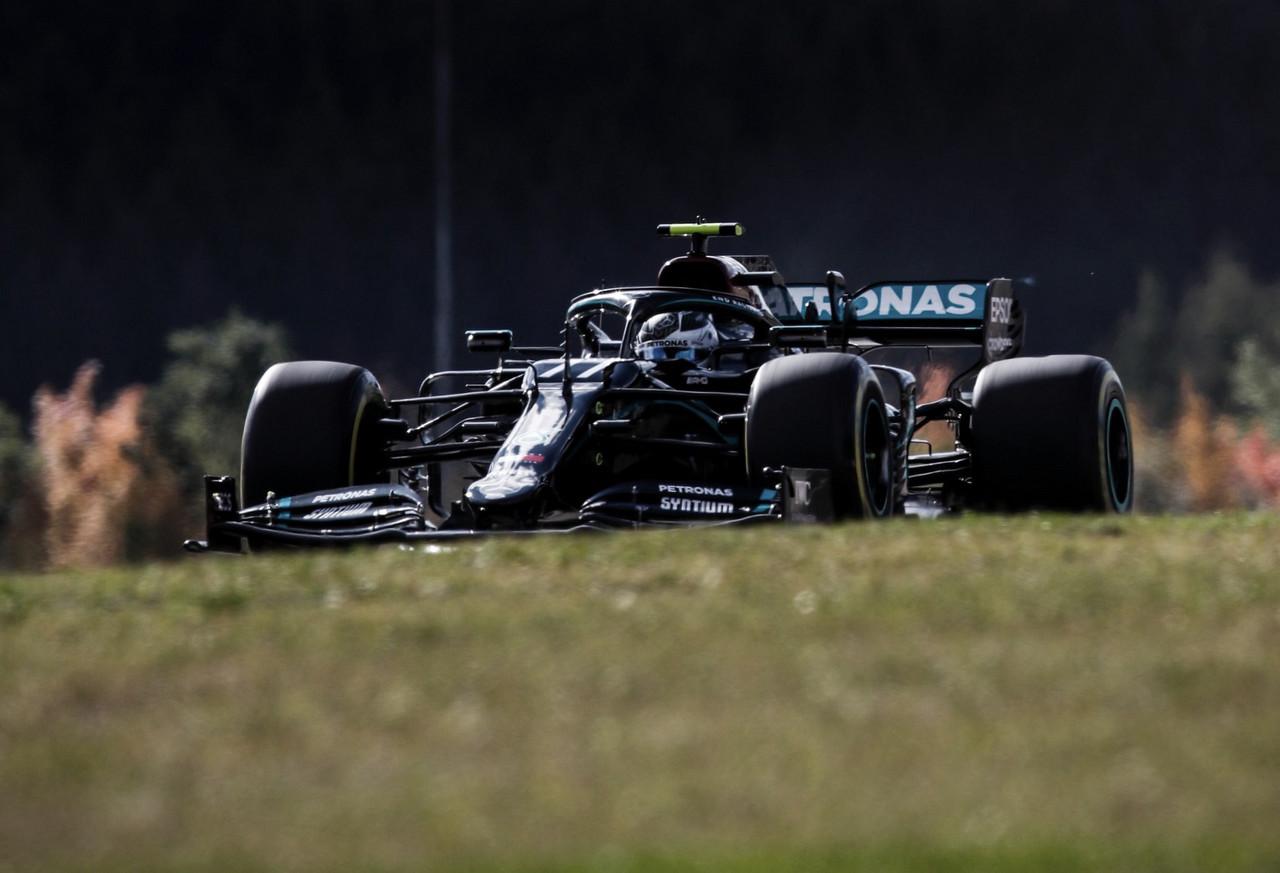 Bottas durante la sesión de clasificación / FOTO: MercedesAMG F1