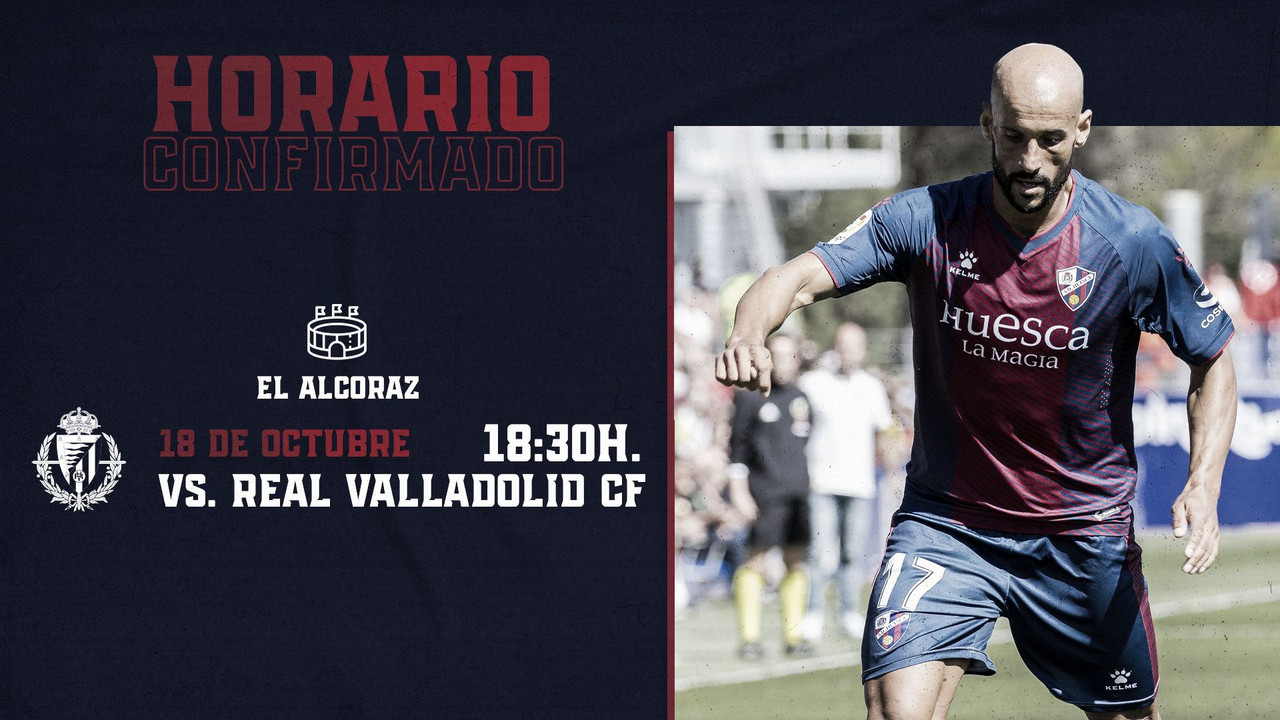 Partido SD Huesca vs Real Valladolid / Twitter: SD Huesca