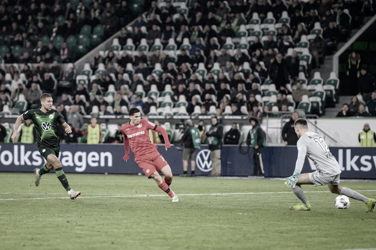 Com gol de Paulinho, Bayer Leverkusen vence Wolfsburg pela Bundesliga