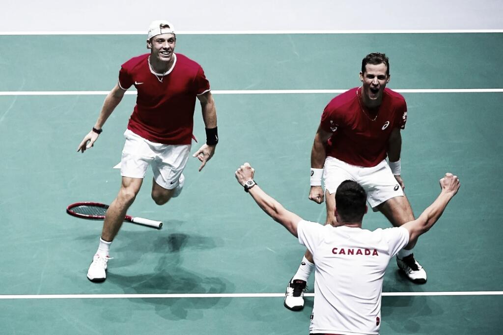 Em dia inspirado de Shapovalov, Canadá vence Rússia e vai à final da Copa Davis pela primeira vez