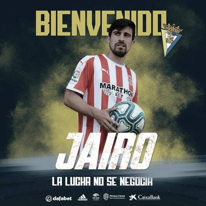 OFICIAL: Jairo Izquierdo regresa al Cádiz CF