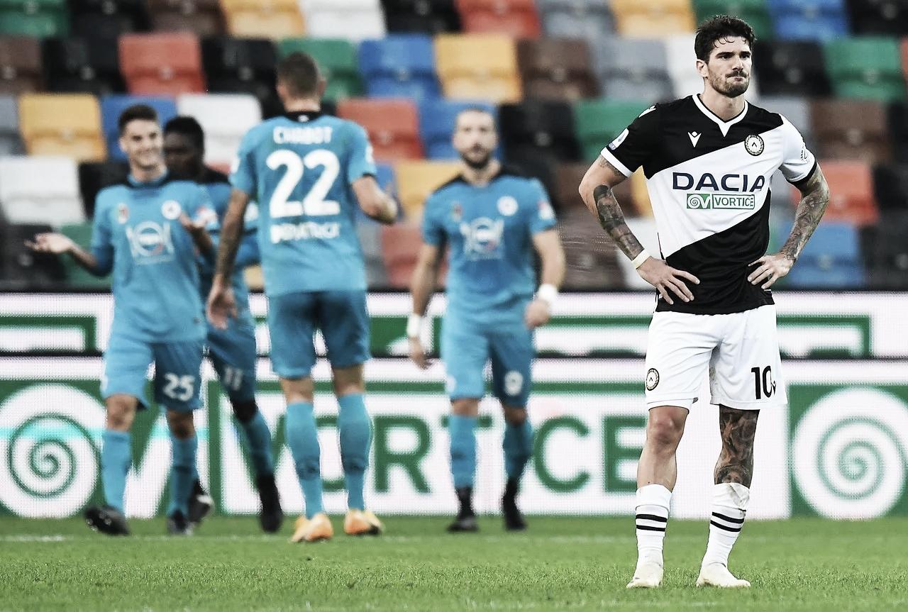 Mal arranque para el Udinese de Musso y De Paul
