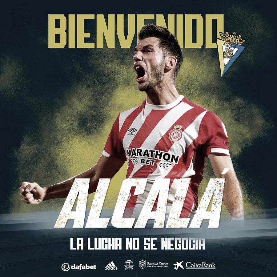 OFICIAL: Pedro Alcalá, nuevo jugador del Cádiz CF