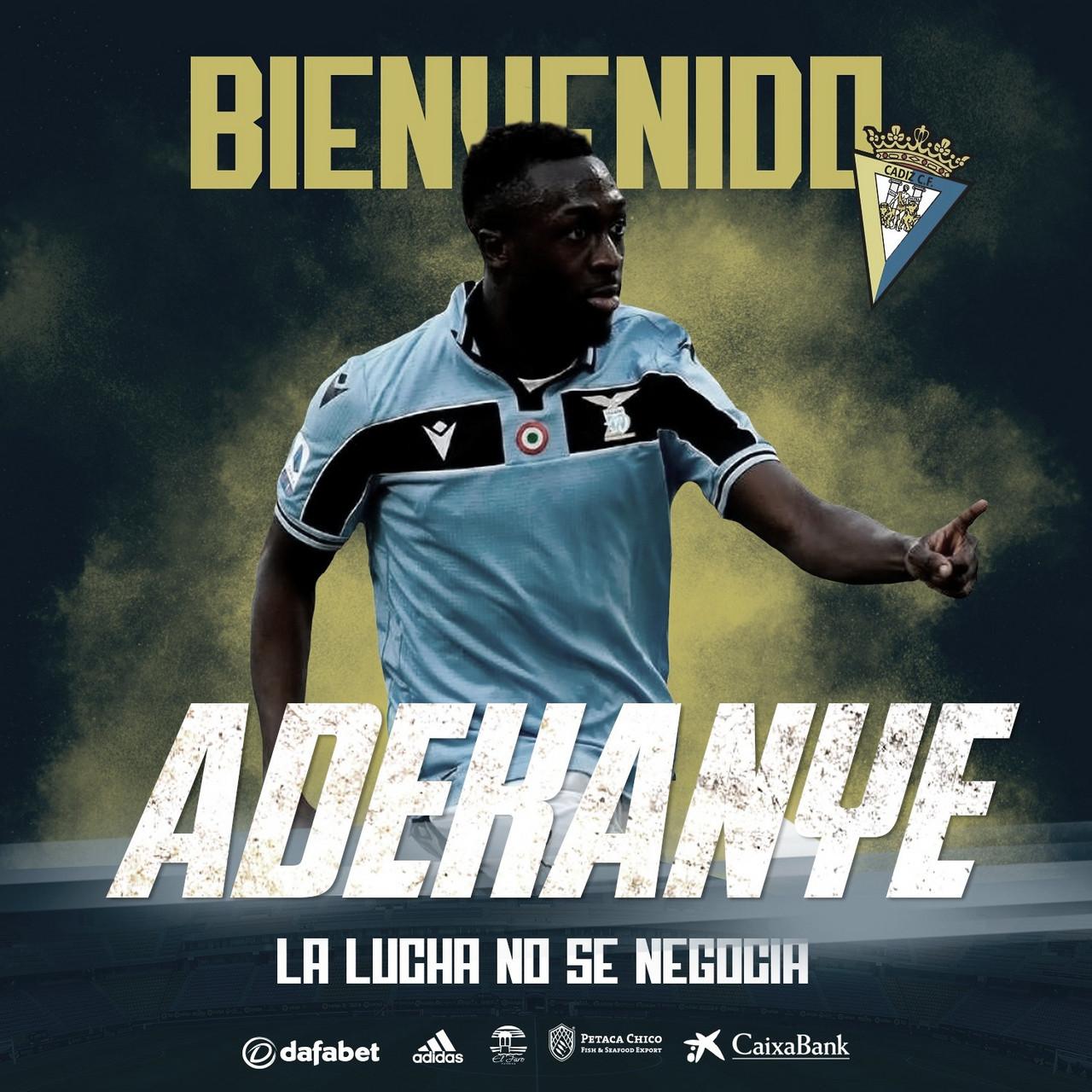 OFICIAL: Bobby Adekanye, último refuerzo del Cádiz CF