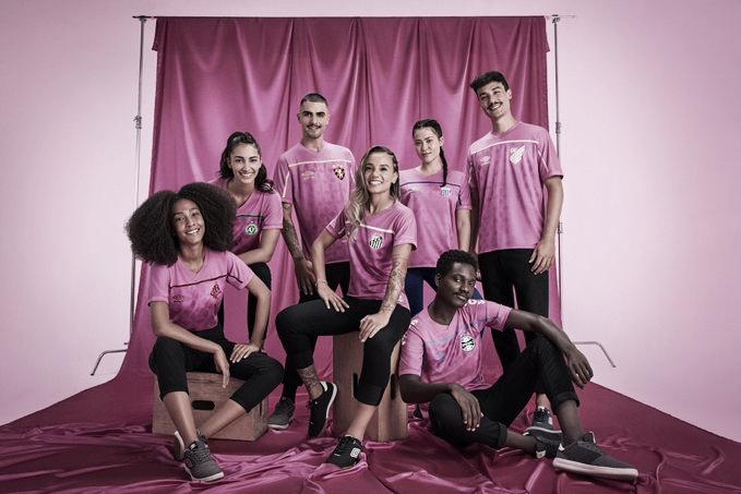 Clubes do Brasileirão lançam camisa em campanha do Outubro Rosa
