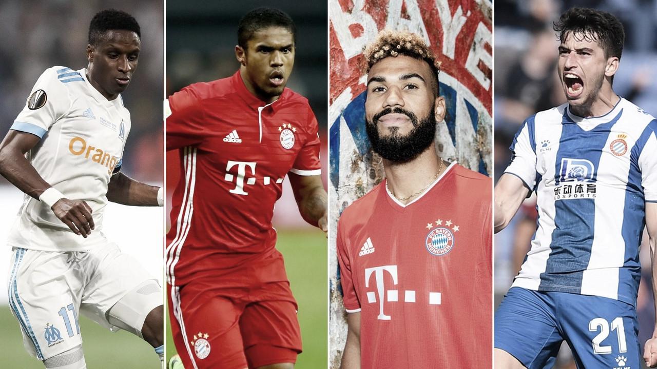 Las cuatro nuevas caras del Bayern / FOTO: Bayern