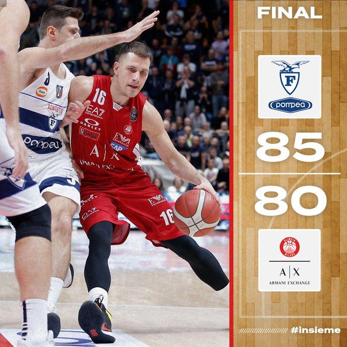 Lega Basket - Milano stanca da Eurolega, la Fortitudo fa l'impresa e conquista il successo