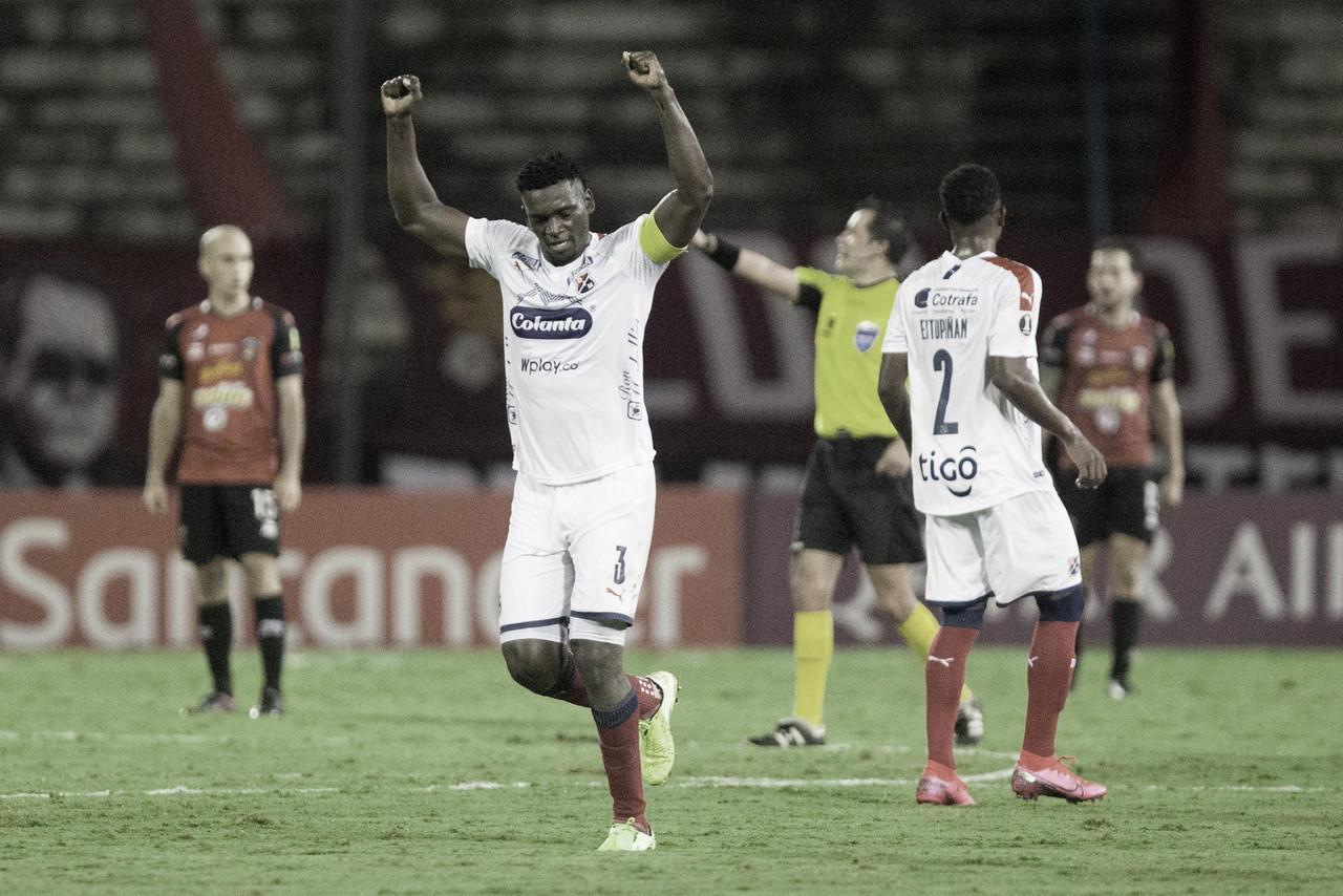 Puntuaciones de Independiente Medellín en la jornada 5 de la Copa Libertadores
