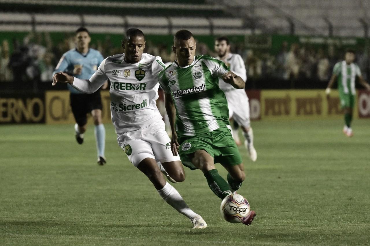 Juventude e Cuiabá fazem jogo com emoção e bom futebol do início ao fim, mas ficam no empate