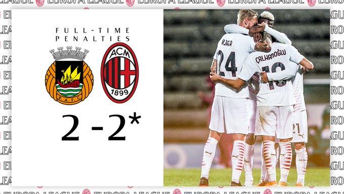 Il Milan si qualifica ai gironi di Europa League vincendo una delle gare più strane di sempre