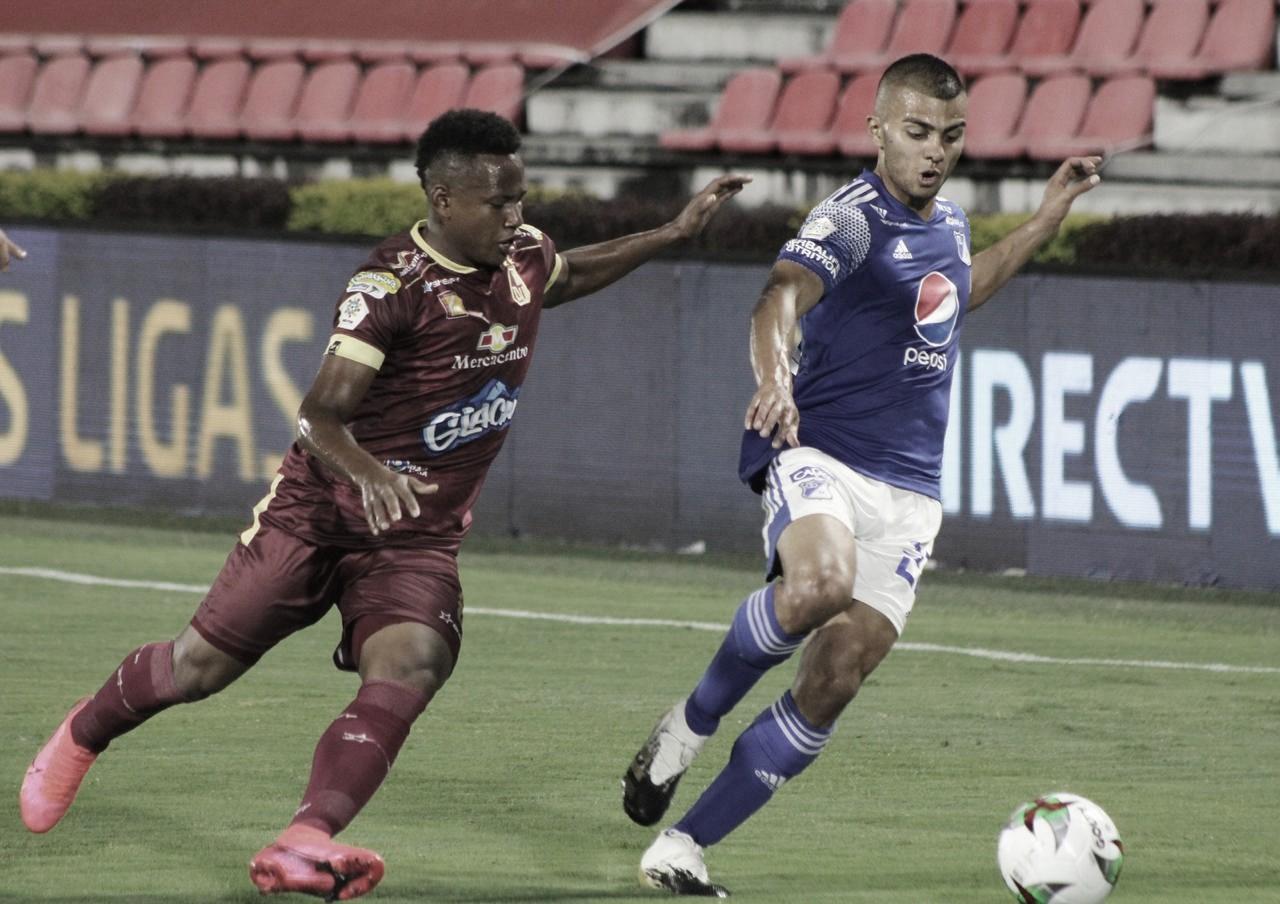 Puntuaciones del empate de Millonarios contra Deportes Tolima