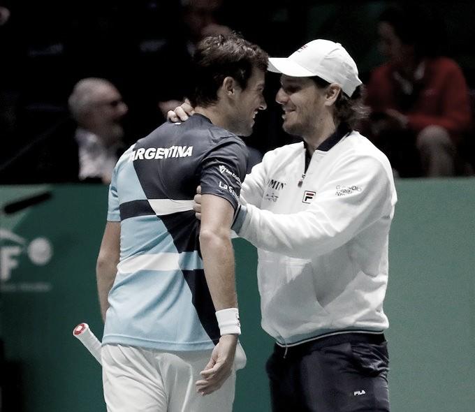 Copa Davis. Argentina vs Chile: día perfecto para la albiceleste
