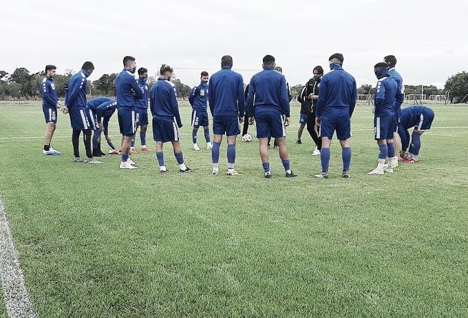 El plantel de Diego Martínez cerró la pretemporada y ya piensa en el inicio de la Copa de la Liga Profesional. Foto: Prensa Godoy Cruz.