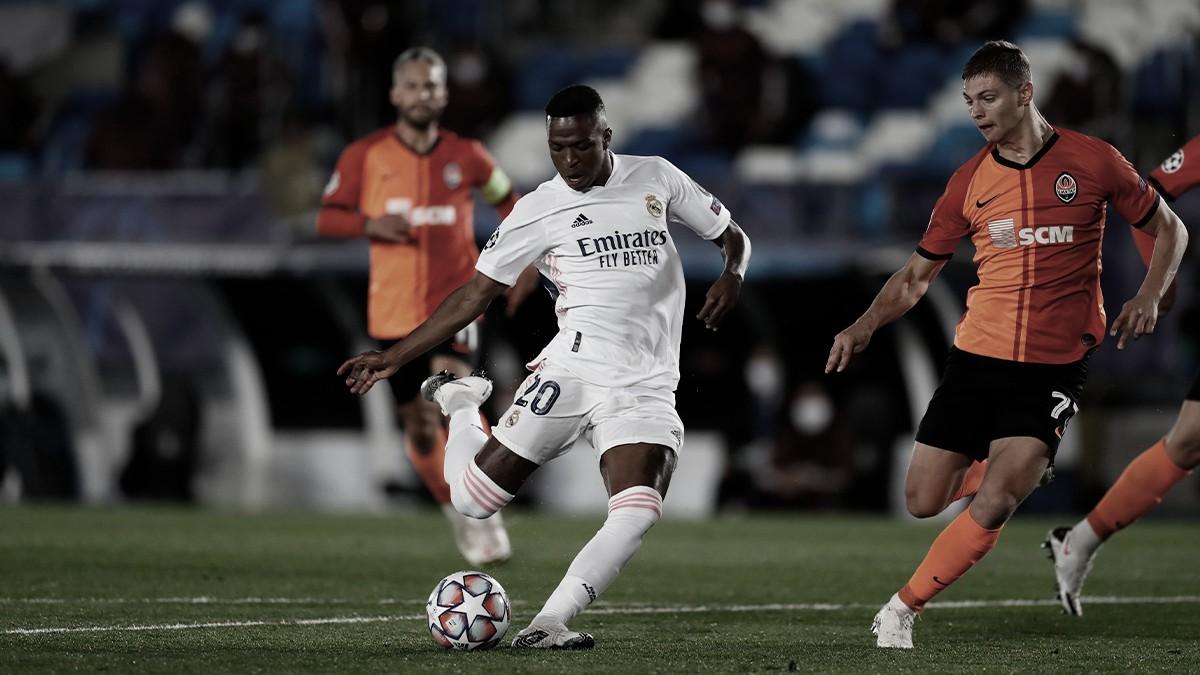 Real Madrid en su último encuentro de UCL (2-3). / Fuente: Real Madrid