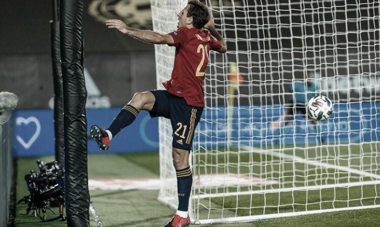 Mikel Oyarzabal marcó el único gol del encuentro ante Suiza | Foto: @SeFutbol