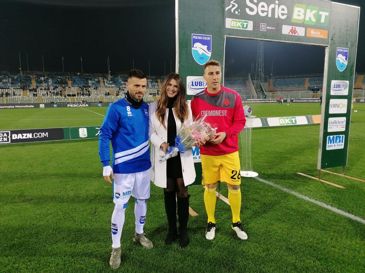 Migliore risponde a Galano: Pescara e Cremonese pareggiano 1-1