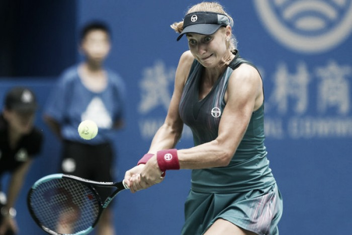 WTA Wuhan: Ekaterina Makarova upsets Anastasija Sevastova in straight sets