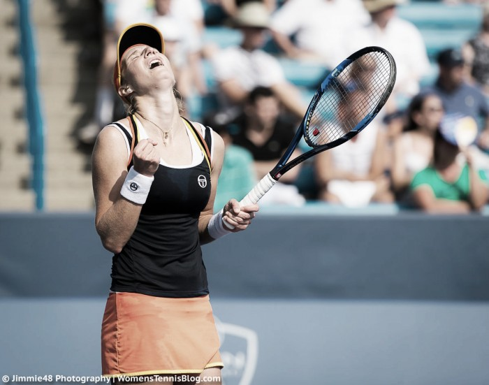 WTA Cincinnati: Ekaterina Makarova overcomes nerves and cramps; defeats third seed Angelique Kerber