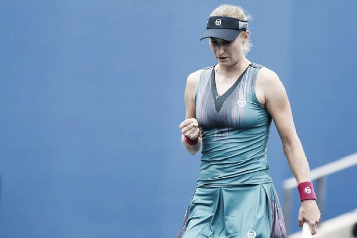 WTA Wuhan: Ekaterina Makarova prevails in all-Russian battle against Daria Kasatkina