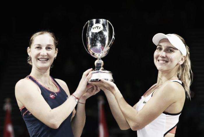 Ekaterina Makarova and Elena Vesnina qualify for the WTA Finals