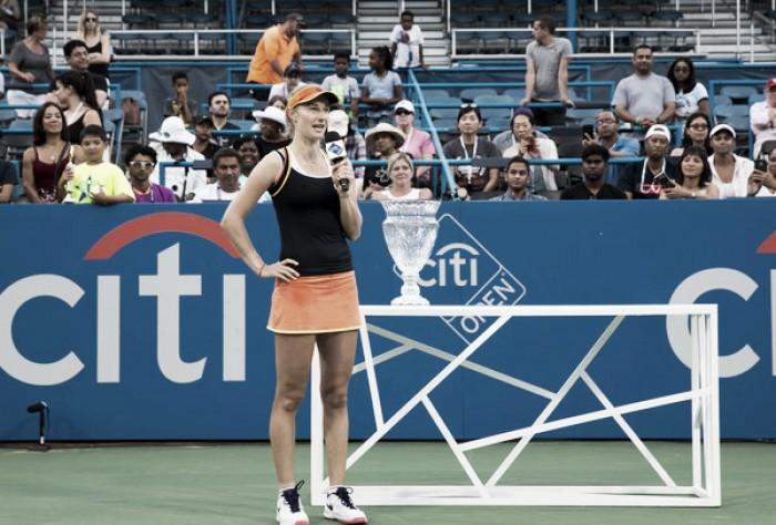 WTA Washington: Ekaterina Makarova claims first title of 2017 after defeating Julia Goerges