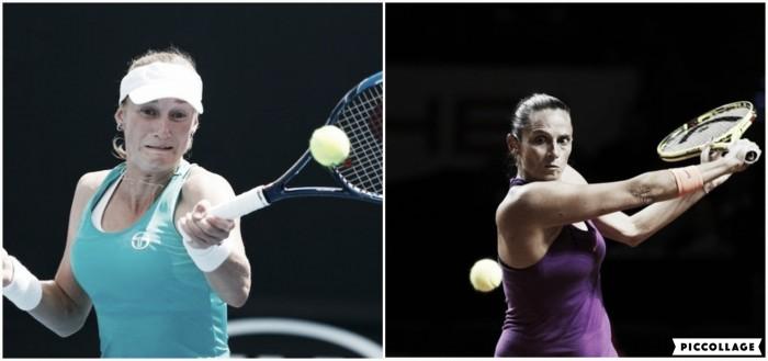 WTA Rome first round preview: Ekaterina Makarova vs Roberta Vinci