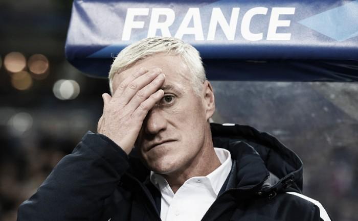 """Didier Dechamps prevê crescimento da França na Eurocopa: """"Podemos melhorar"""""""