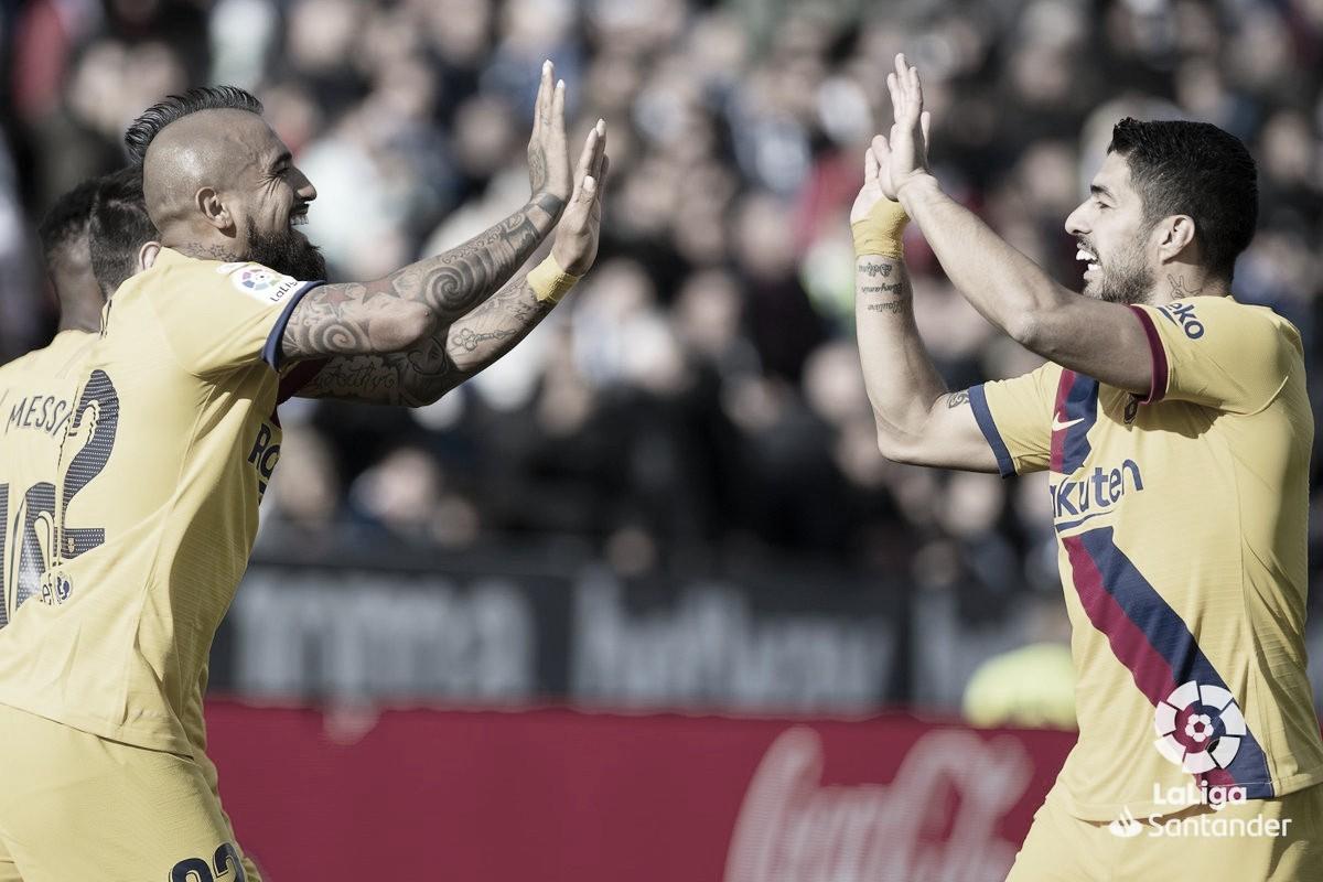 En-Nesiry faz golaço para lanterna Leganés, mas Barcelona busca virada fora de casa