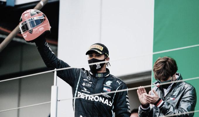 Hamilton igualó el récord de Schumacher