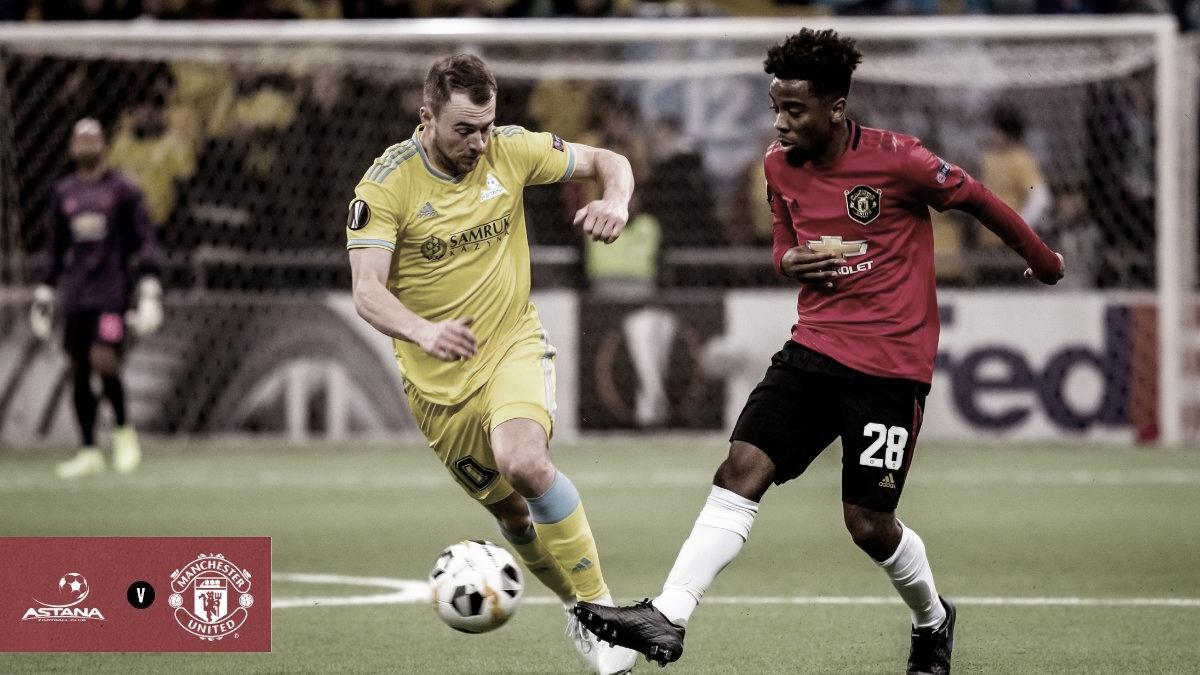 Astana vira sobre Manchester United e vence a primeira; AZ se classifica nos acréscimos