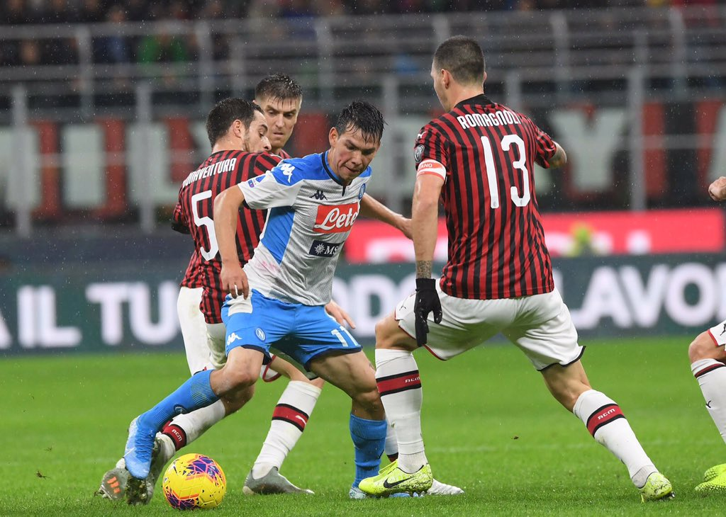 Milan e Napoli non escono dalla crisi: 1-1 a San Siro