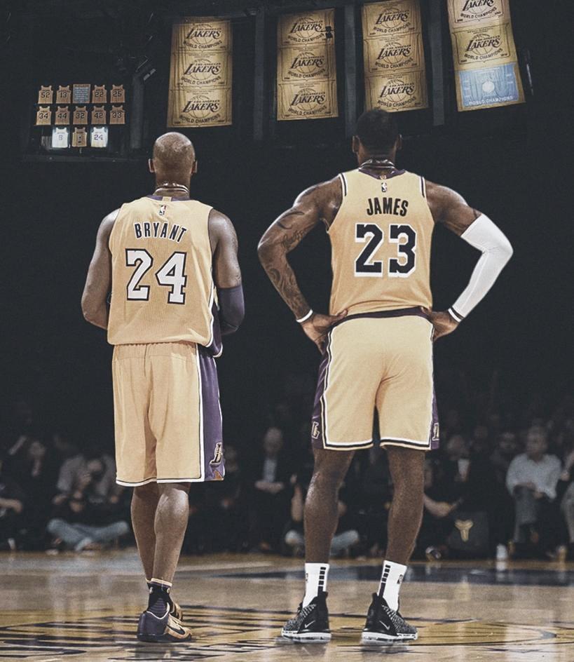 Kobe Bryant y LeBron James. Vía: ESPN