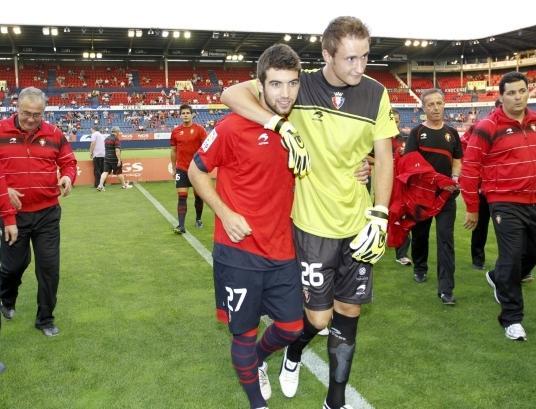 El Numancia no alarga la cesión y Zabal regresa a Osasuna