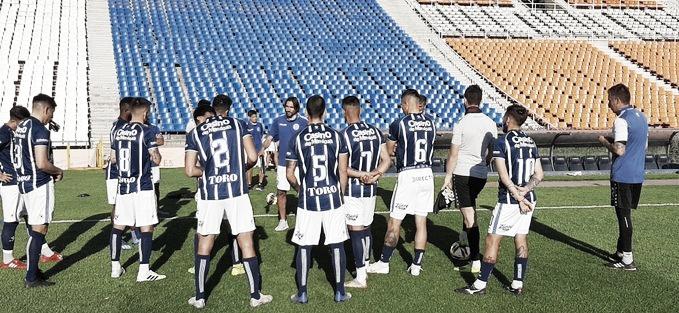 El último amistoso del Tomba fue el sábado pasado en el Malvinas Argentinas, contra Gimnasia y Esgrima. Foto: Prensa Godoy Cruz.